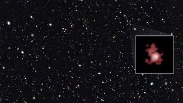 La galaxia GN-z11 existe desde 400 millones de años después del Big Bang. (Foto: NASA)
