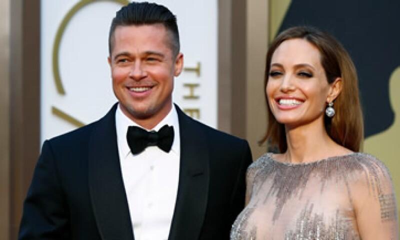 Jolie y Pitt contrajeron nupcias el sábado pasado en Francia. (Foto: Reuters)