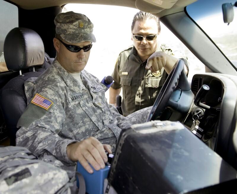 Soldados frontera México Estados Unidos