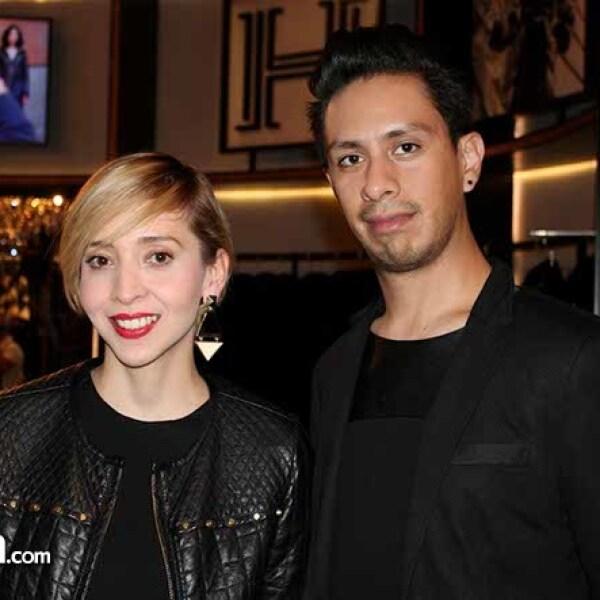 Beddy Castro y Jaime Prado