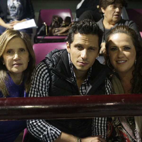 Renata,Rafael y Paola Capdeville