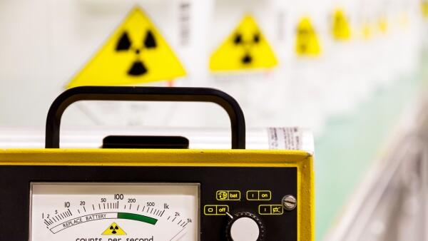 Fuente radioactiva localizada