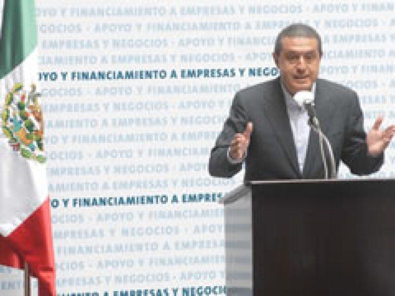 Ignacio Deschamps, líder de los banqueros en México (Foto: Notimex)