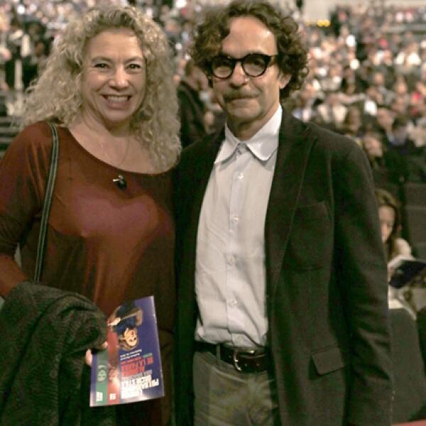 Thelma Lazcano y Javier Cuadri