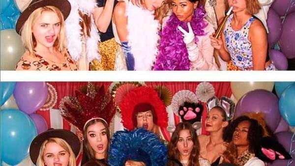 La cantante celebró la llegada de su próximo ahijado en West Hollywood junto a los futuros papás y amigas como Gigi Hadid, Jessica Alba, Nina Dobrev y Diane Kruger.