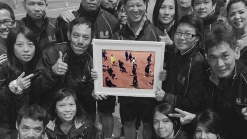 Fearless Dragons equipo corredores con discapacidad