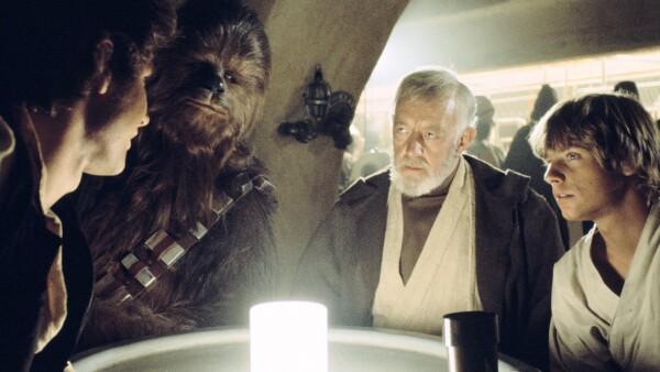 Escena de Star Wars en la cantina de Mos Eisley.