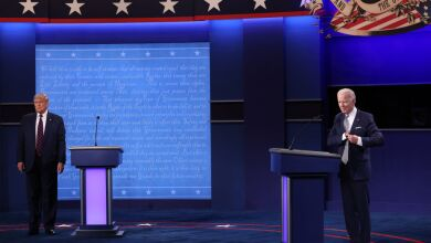 Donald Trump And Joe Biden Participate In First Presidential Debate