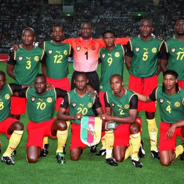 La selección nacional de Camerún en el Mundial 2002