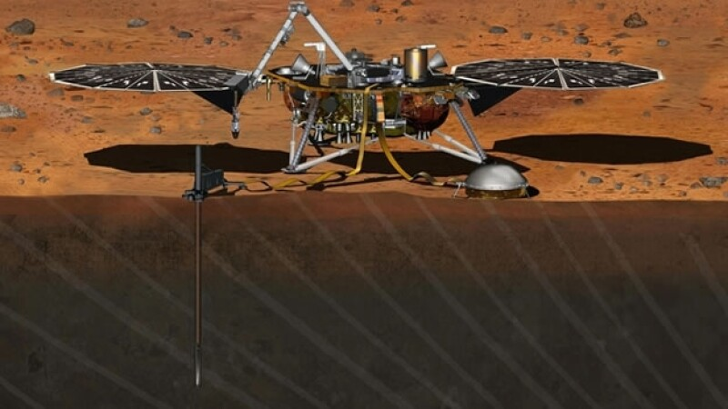 Un prototipo del transportador que será enviado a Marte para obtener más información del planeta rojo