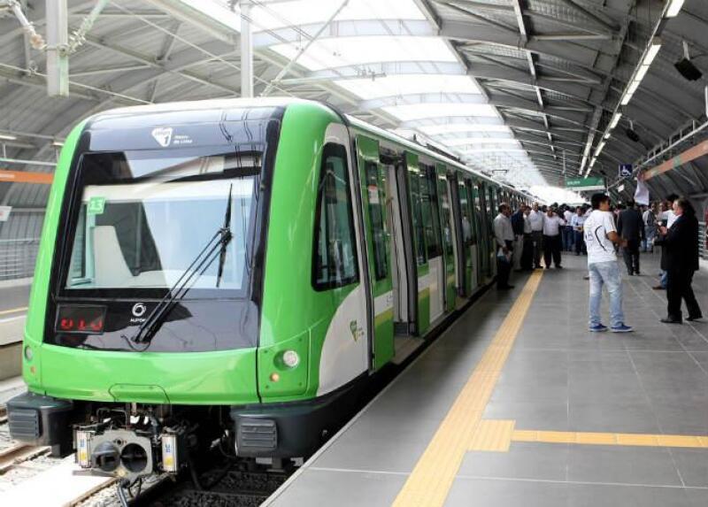 Tren el�ctrico de Lima, Per�