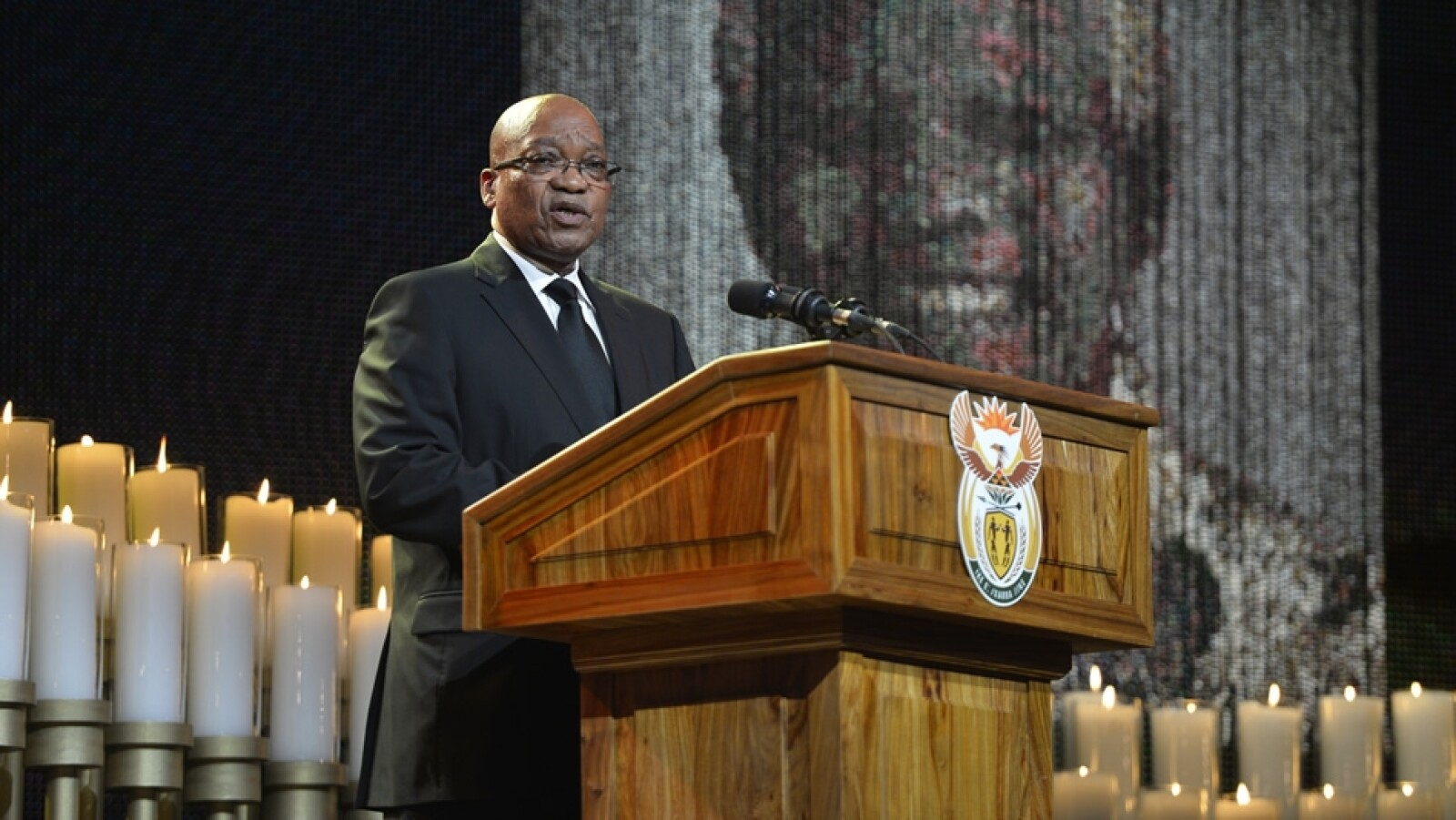 presidente jacob zuma funeral nelson mandela