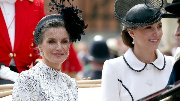 Kate Middleton y Letizia