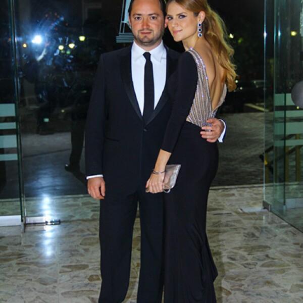 Andrés Gutiérrez y Lily Elizondo