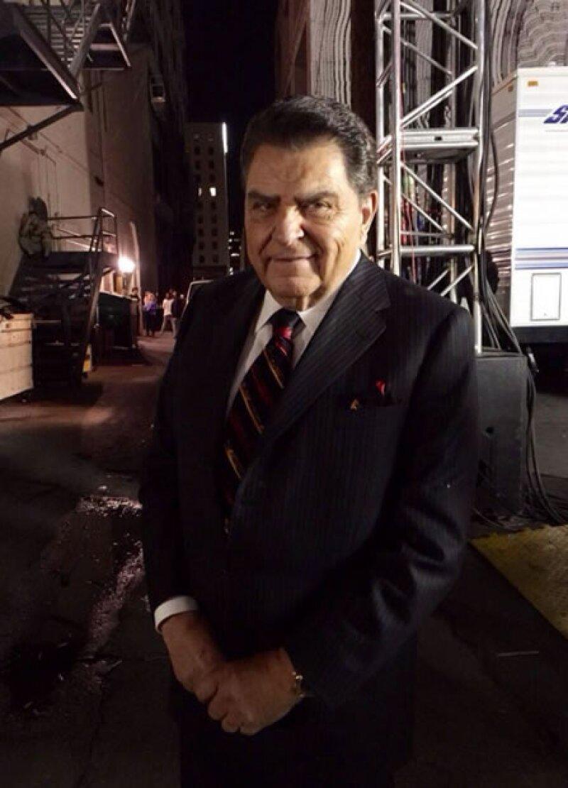 Don Francisco durante un break de la gala.