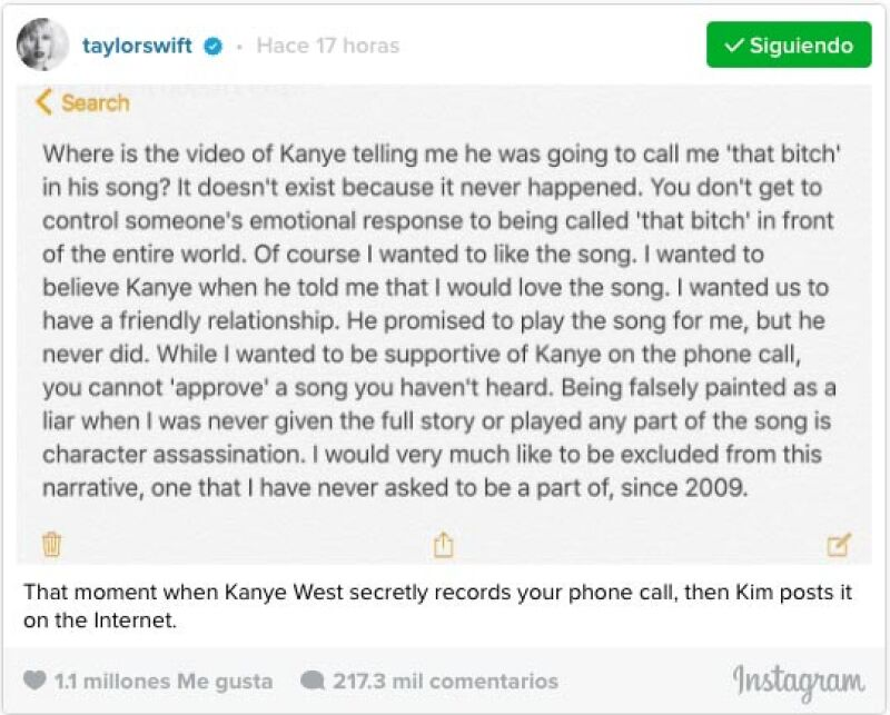 Este es el post completo de Taylor.