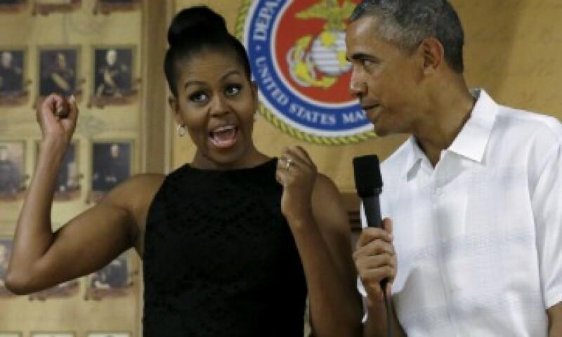 La pareja presidencial hará el tan esperado viaje después del restablecimiento de relaciones (Foto: Reuters/Archivo)