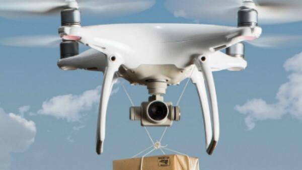 dron mensajer�a