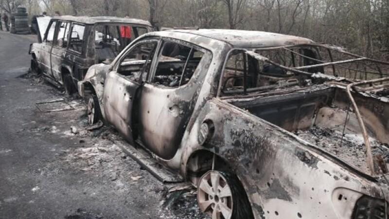 ucrania enfentamiento Slavyansk