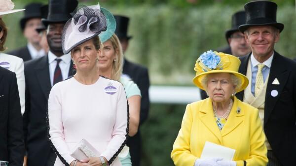 Sophie Wessex y la reina Isabel II