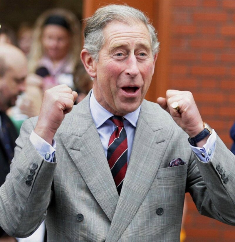 Prince Charles Visits Merthyr Tydfil