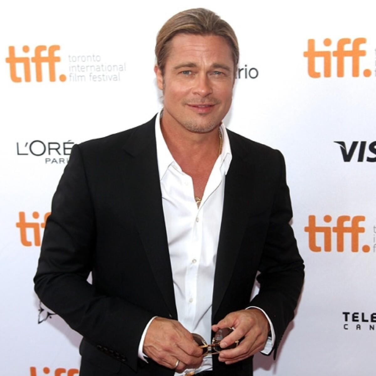Brad Pitt ya no quiere usar jabón