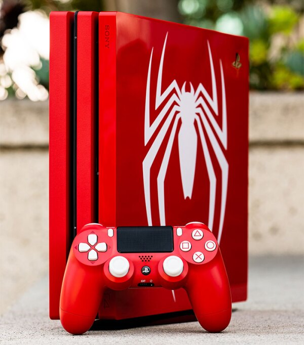 PS4 Pro Marvel's Spider-Man