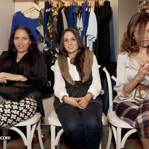 Maggie Zaga, Paulina Mass y Michelle Ávila