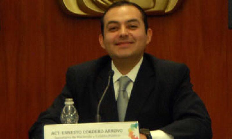 Ernesto Cordero anunció medidas mitigar los efectos en México de la situación económica que prevalece en Europa y Estados Unidos. (Foto: Notimex)