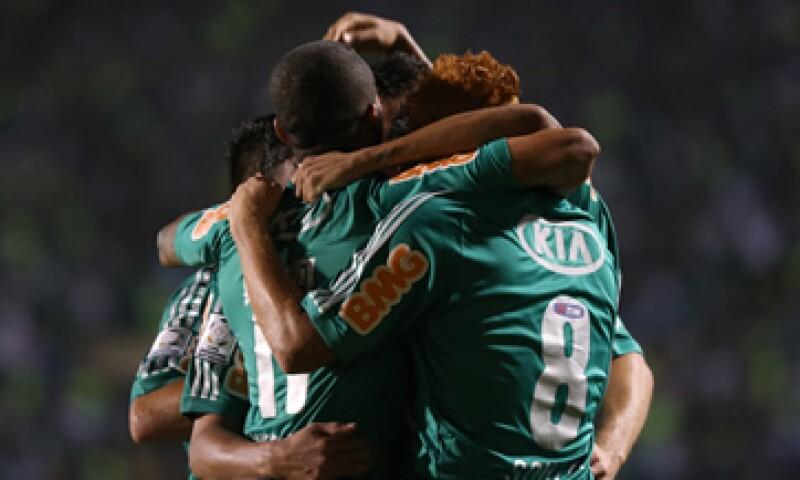 En el estadio, que se espera que sea terminado a fines de este año, será local el club Palmeiras. (Foto: AP)