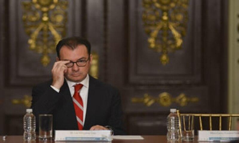 Luis Videgaray había descartó que las inversiones en México se habían visto afectadas tras la desaparición de los normalistas. (Foto: Cuartoscuro )