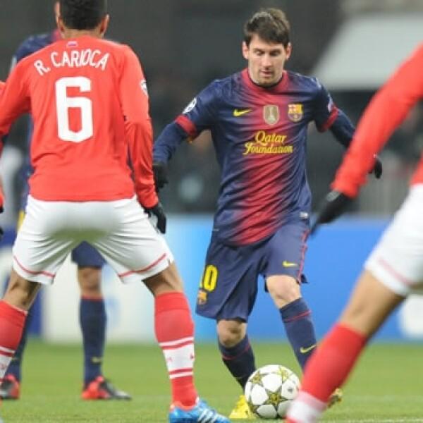 Lionel Messi burla al Spartak