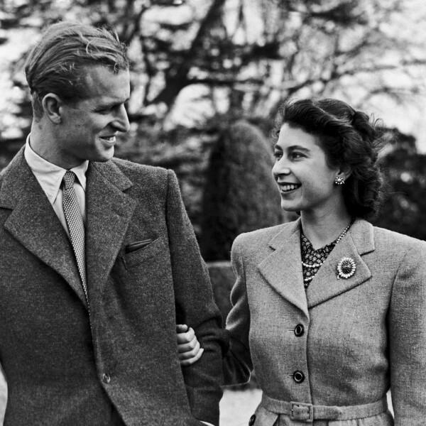Felipe e Isabel en su luna de miel, noviembre de 1947