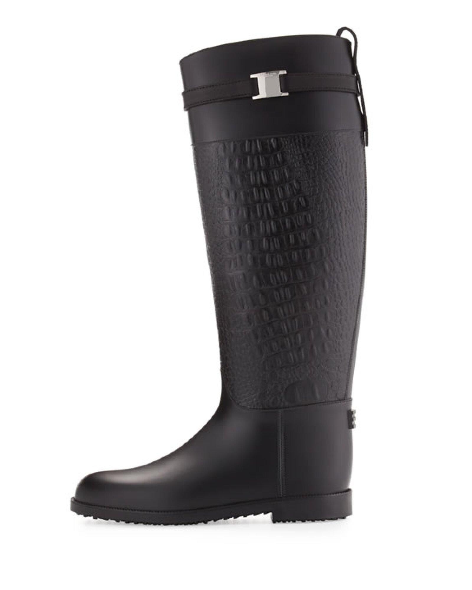 Otra opción en negro, nos las da Michael Kors con las botas Miranda.