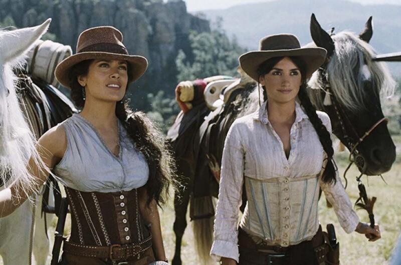 Las actrices se conocen desde que trabajaron en Bandidas.