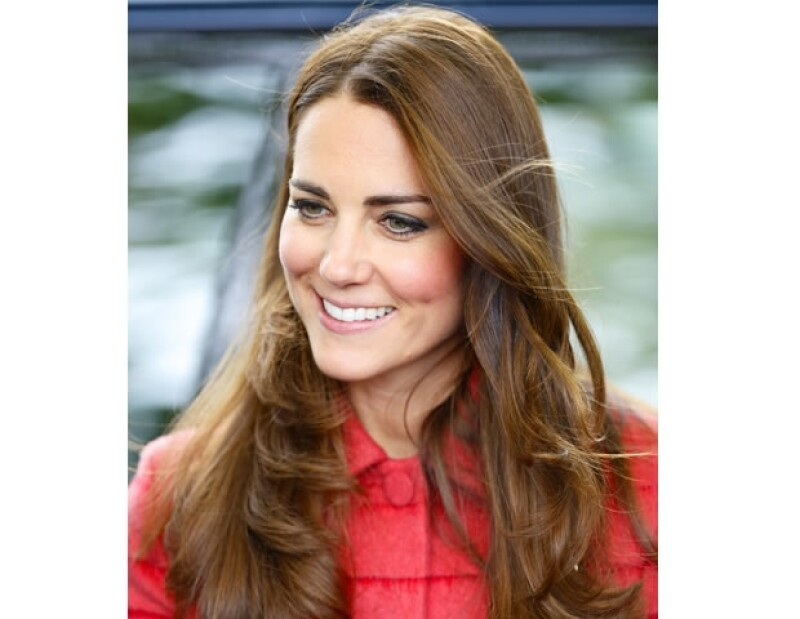 Kate Middleton poseé una envidiable cabellera.