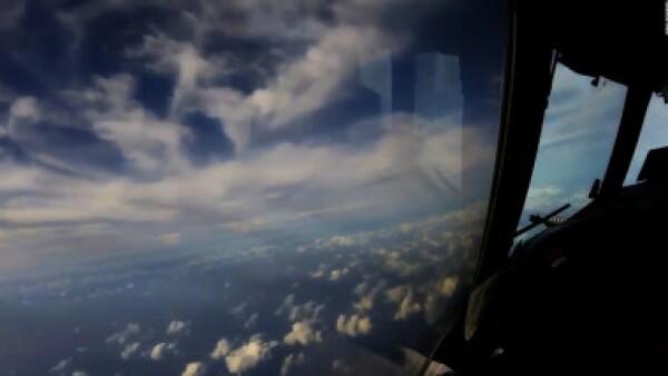 Así se ve Irma desde el aire