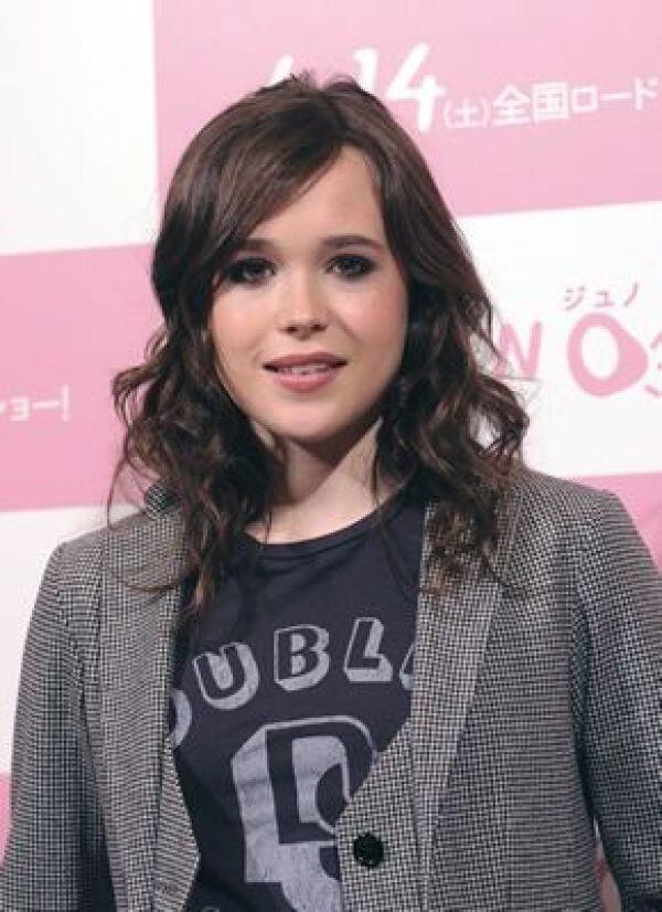 """Ellen Page fue nominada a los premios Oscar y Globo de Oro en la categoría de Mejor Actriz por su actuación en """"Juno""""."""