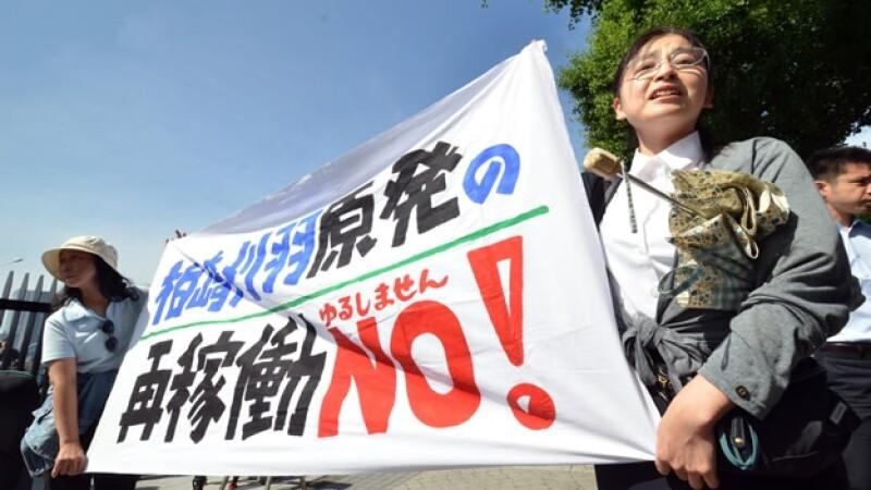 japon manifestacionesa anti nuclear tepco fukushima