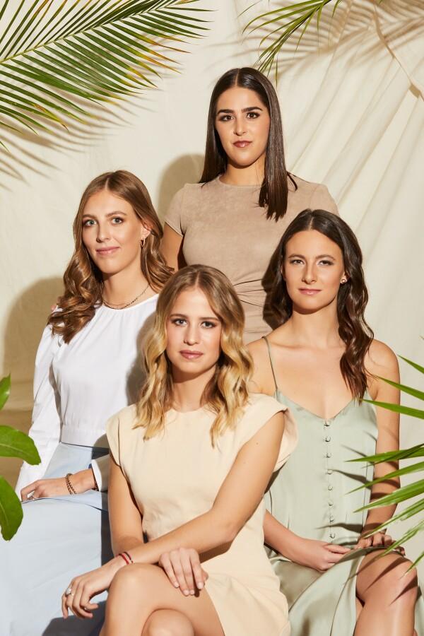 Sasha Glatt, Carla Pilgram, Sara Kalach, Floretta Mayerson
