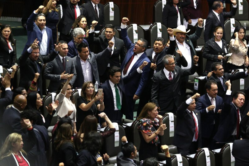 Morena y el PAN  pelean  por presidir la Jucopo en la Cámara de ... 54d5372a2bb