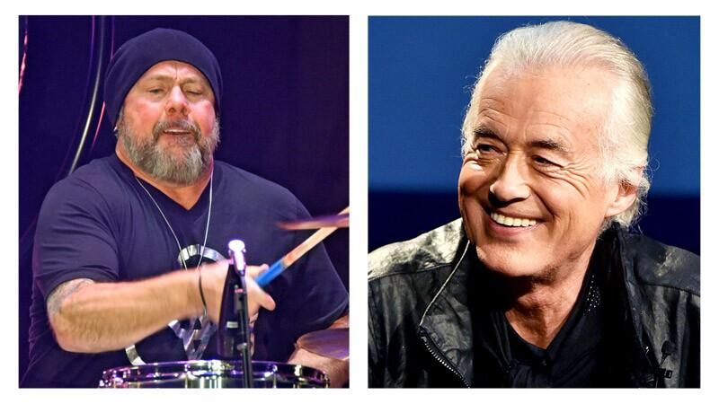 Jason Bonham y Jimmy Page