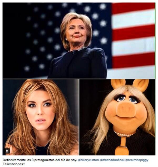 Hillary Clinton, Alicia Machado