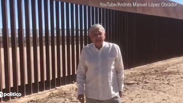 AMLO en la frontera