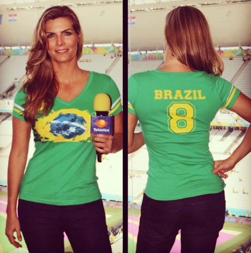 La emoción futbolera comenzó a inundar las cuentas de Instagram y Twitter de los famosos. Algunos reportan directo desde Brasil y otros comentan sobre el inicio de la Copa Mundial.