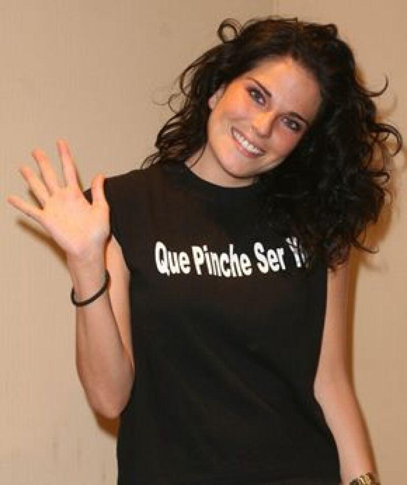 Una de nuestras niñas más guapas aseguró que la telenovela 'Verano de amor' le ayudó a tener proyección.