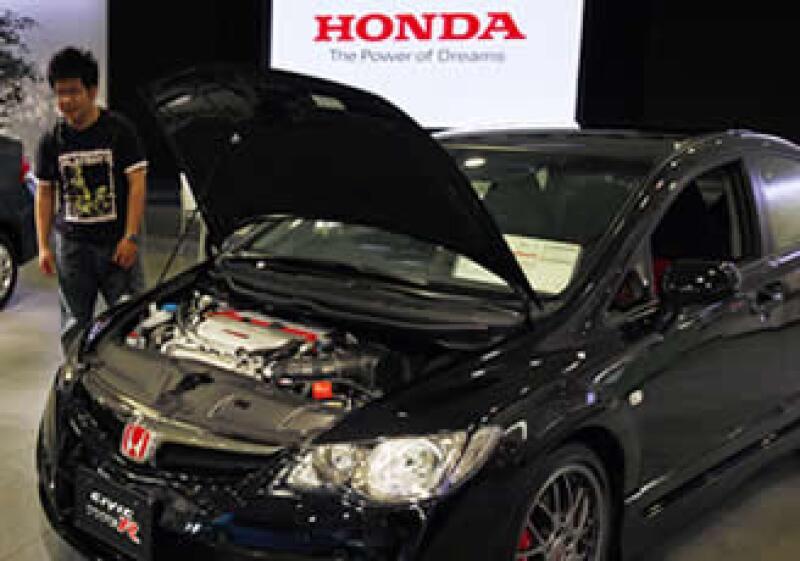 El Civic 2012 no es el único afectado por la falta de suministros, también algunos modelos de la marca Acura, la división de lujo de la empresa. (Foto: AP)