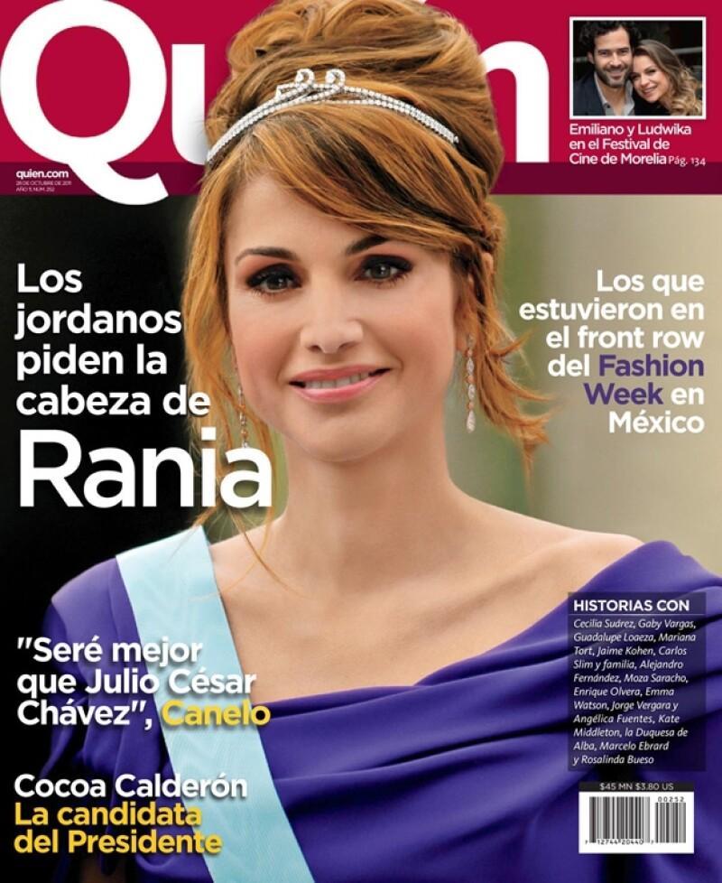 En su nueva edición, que ya está a la venta, la revista Quién ofrece un análisis sobre la Reina de Jordania, quien ya divide opiniones.