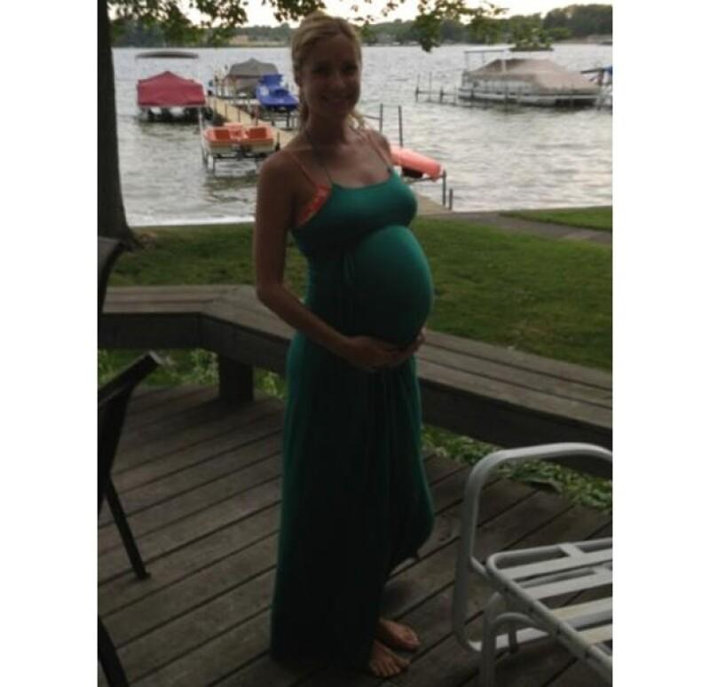 Diferentes fuentes confirmaron que la ex estrella de reality show y actriz está embarazada de su segundo bebé, 14 meses después de haber dado a luz a Camden Jack.