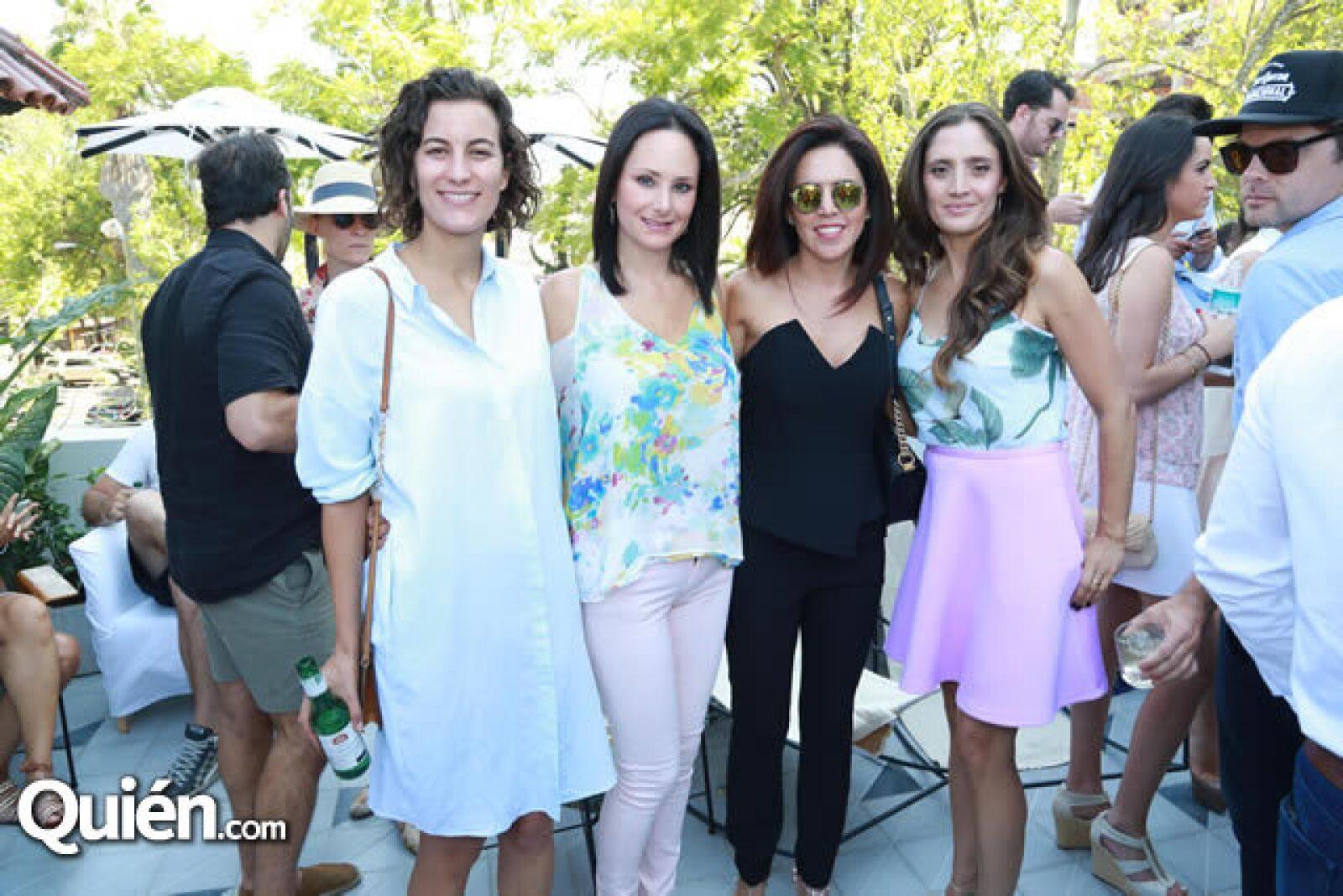 Fernanda de la Peña,Mónica Vertiz,Alejandra Zayas y Mónica Ladrón de Guevara